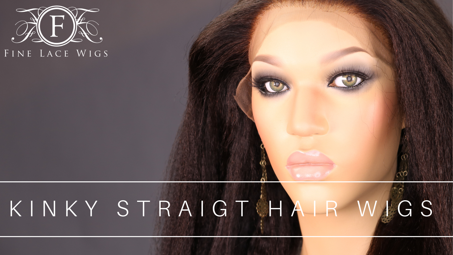 kinky straight Hair Wigs