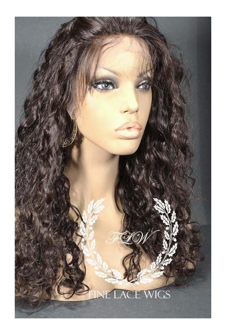 Spanish Curl | Glueless Lace wigs with silk top