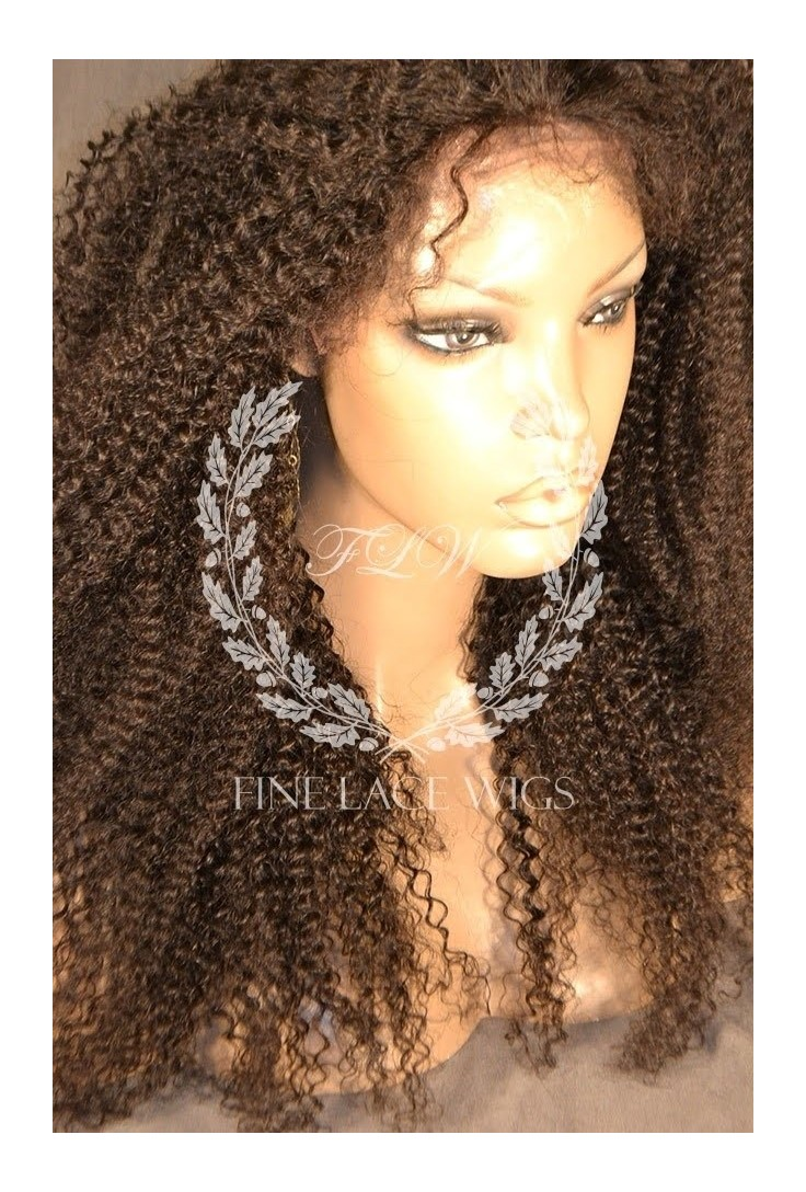 Afro Culry | Glueless Lace wigs with silk top