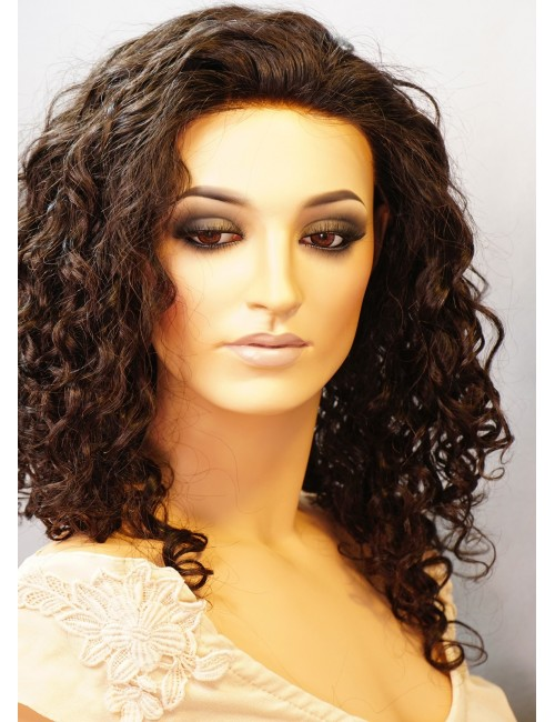 Cassie   Glueless Lace wigs with silk top
