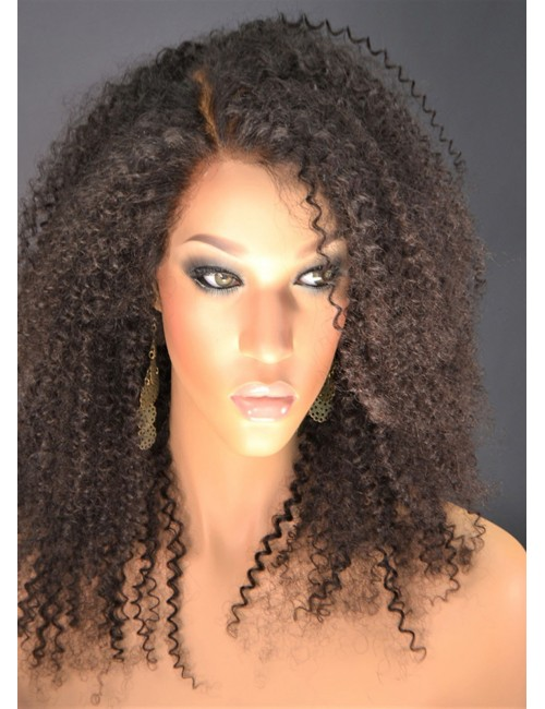 Curly Hair Natural Wigs for African American Women