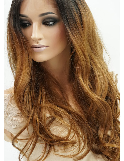 Zoe   Human Hair Lace Front Wigs with Natural Part