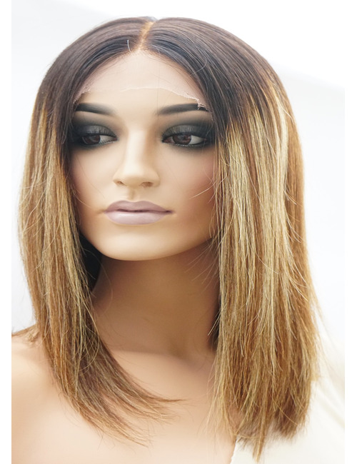 Samantha | Human Hair Lace Front Wigs for White Women