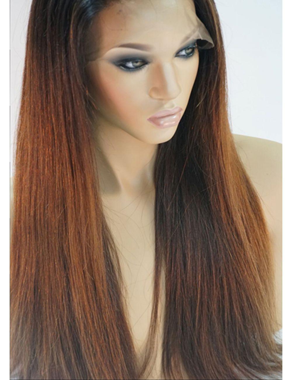 Demi | Long Full Lace Human Hair Wigs