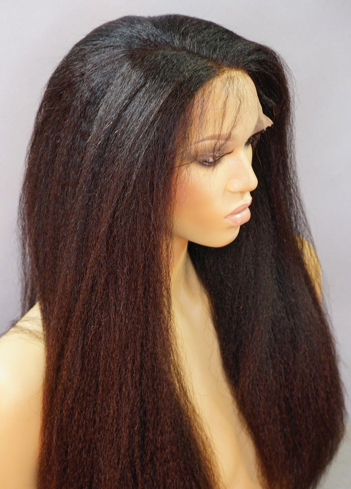April Italian Yaki Wig Italian Yaki Wig Fine Lace Wigs