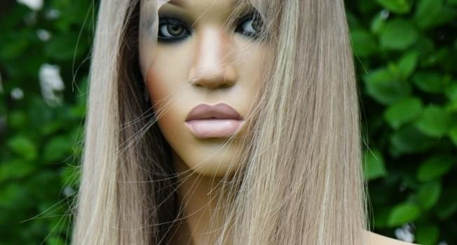 BLONDE HUMAN HAIR LACE FRONT WIGS
