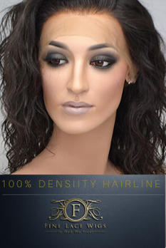 100% Densiity Wig is a the prefect weight to acheive a natural head of hair