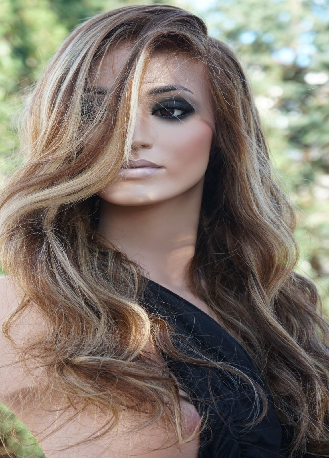 Glueless Human Hair Lace Frotn WIg