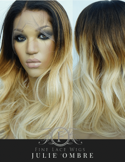 Blonde to Brown stunning melted Ombre Color