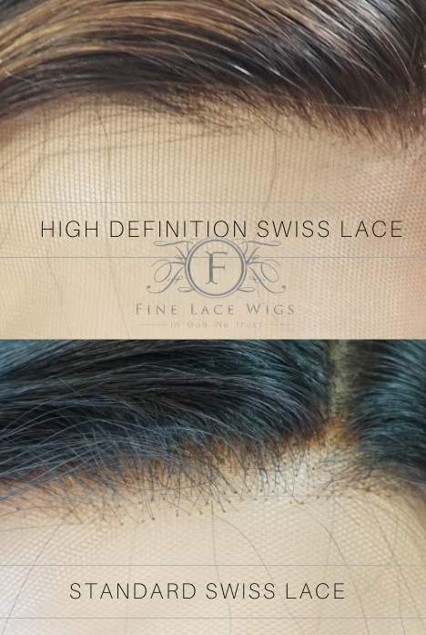 HD lace is light, soft and delicate and provide a the most natural looking wigshich can melt into our skin more perfectly, which makes the hairline more invisible