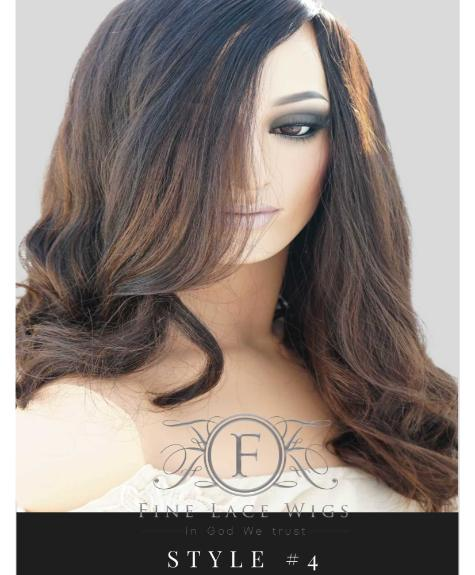europan wig with highlights