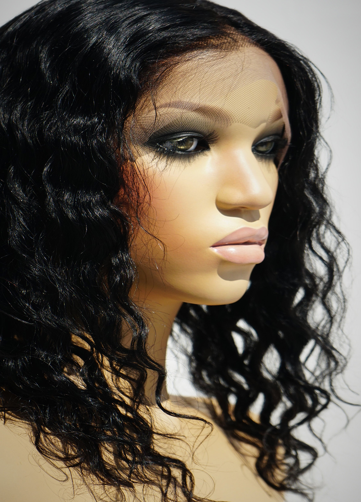 Black Curly WIgs