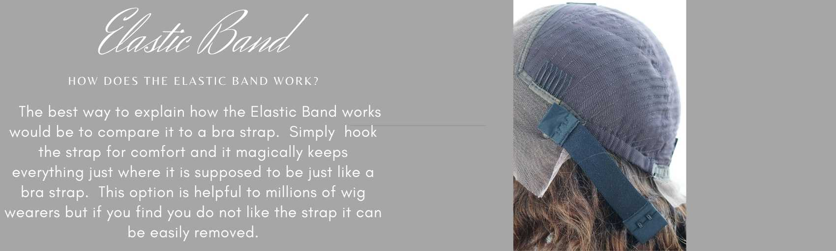 Wigs with Elastic band