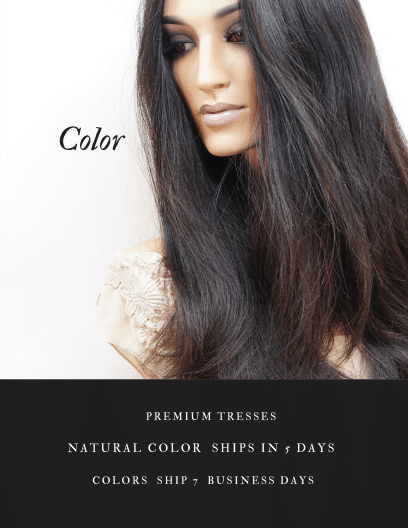 natural hair color wigs