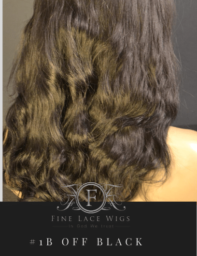 Beautiful Rich Off Black Hair Color Wigs