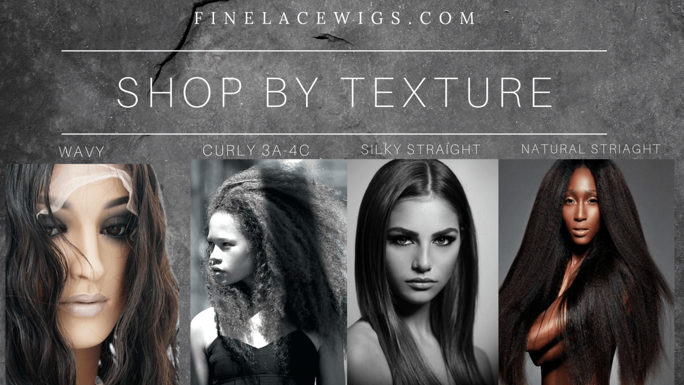 Wigs in beautiful differeent textures and styles
