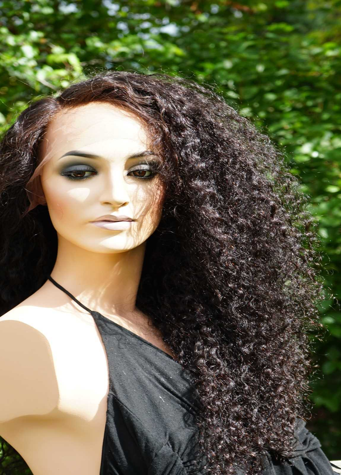 curly hair wigs for caucasian
